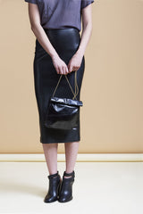 Marie Turnor The Picnic to-go with gold chain black