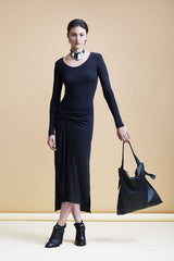 Marie Turnor Knot Tote Black