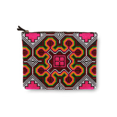 The HOLA Flat Zip Clutch
