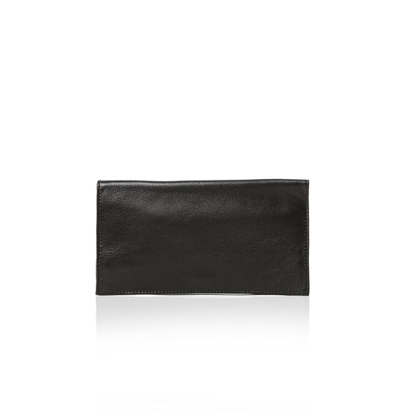 The Toujours Wallet Clutch - Black Deer