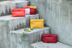 Women's Large Leather Clutches
