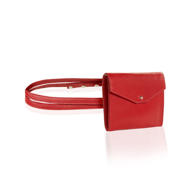 Convertible belt or clutch women's purse