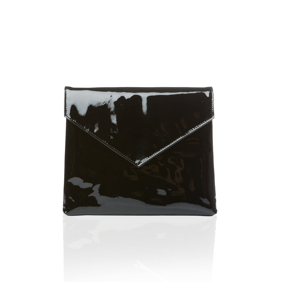 THE CLUB CASE - BLACK PATENT LEATHER