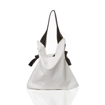 Marie Turnor The Knot Tote Pebble White