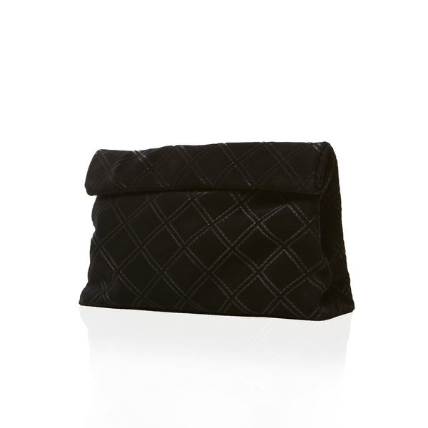 The Lunch — Chanel Quilted Black