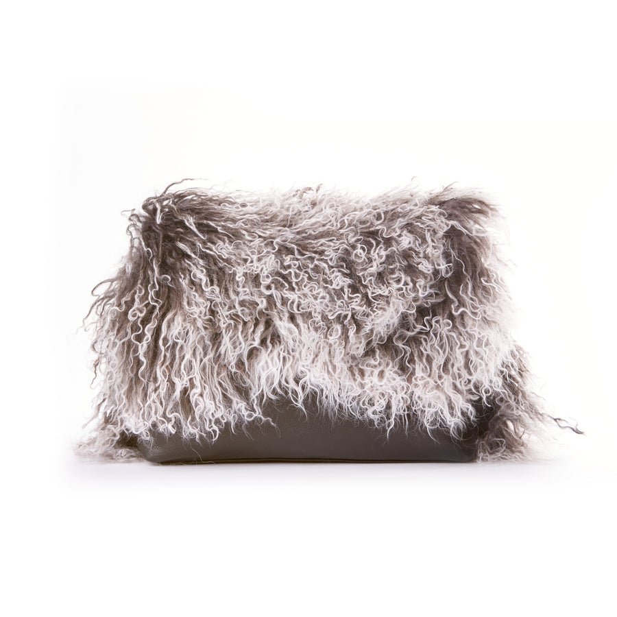 The Muffy Clutch - Black & White