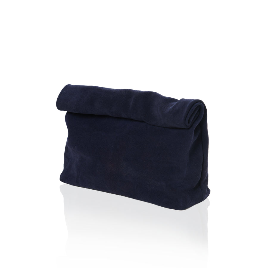 THE LUNCH - NAVY SUEDE