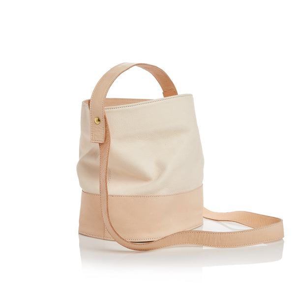 The Nouveau Bucket Bag - Natural Milled