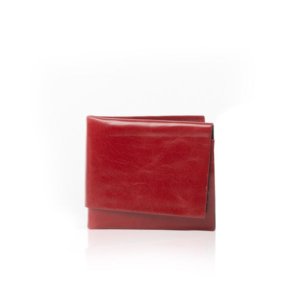 The Origami Wallet - Red + Black