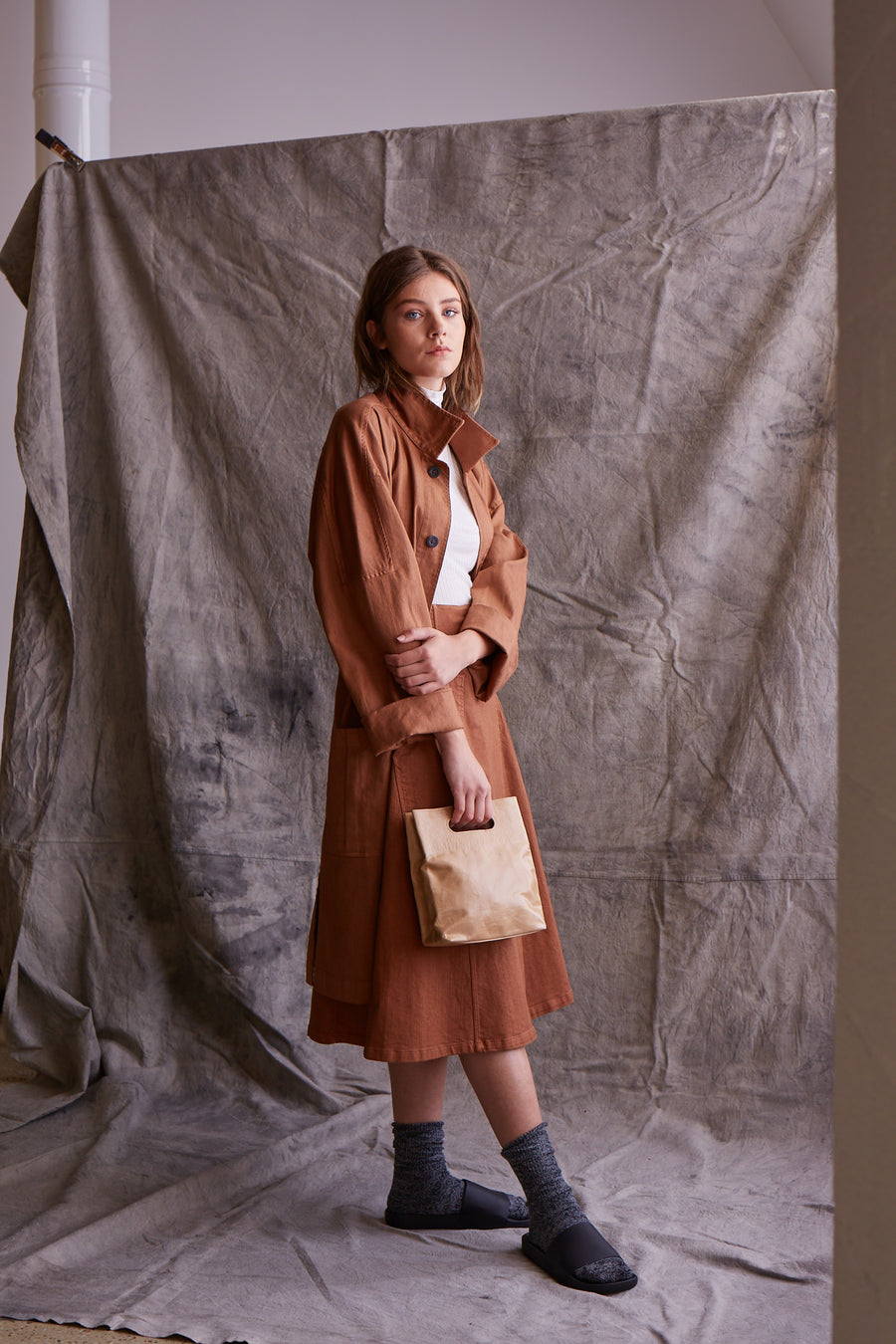 Brown Paper Bag Purse