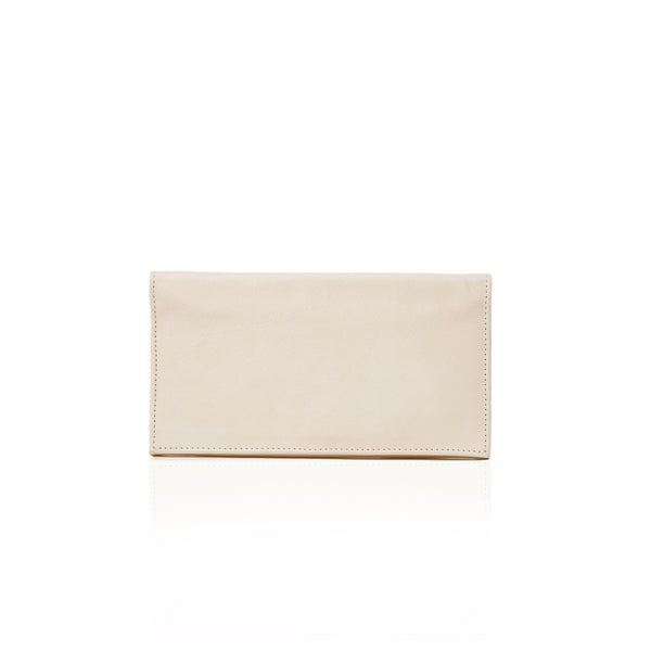 The Toujours Wallet Clutch - Natural Milled