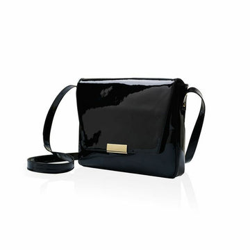 Marie Turnor Club Bag in Black Patent Leather