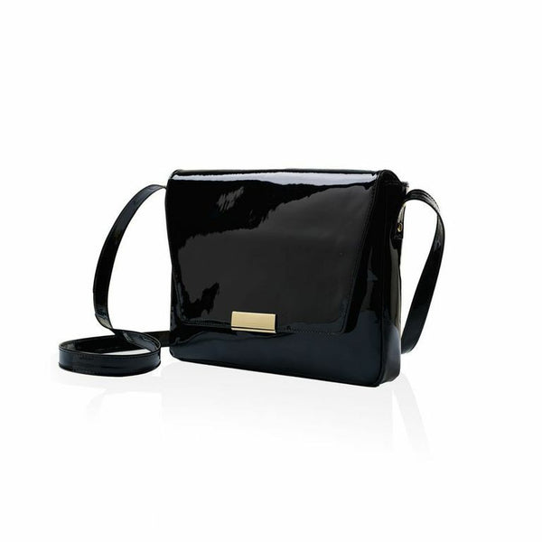 Club Bag — Black Patent Leather