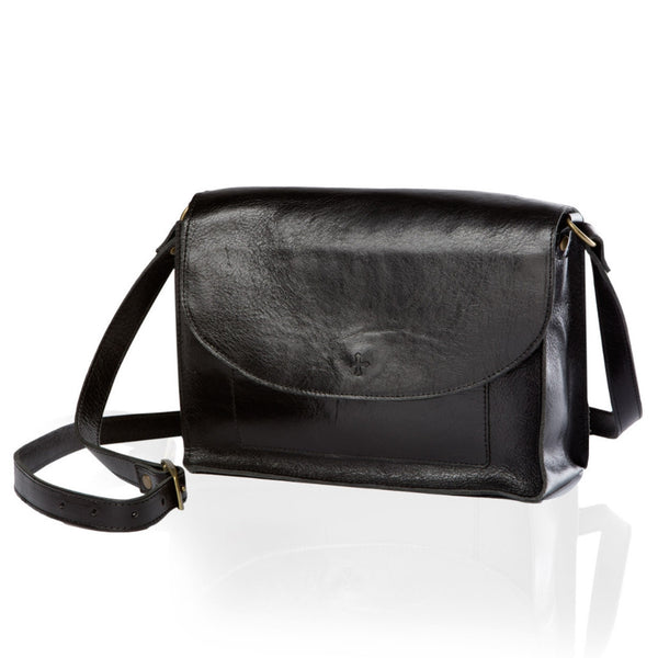 The Scout Shoulder Bag — Black