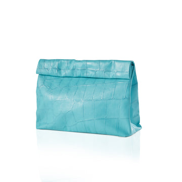 The Lunch — Turquoise Croco - Limited Edition