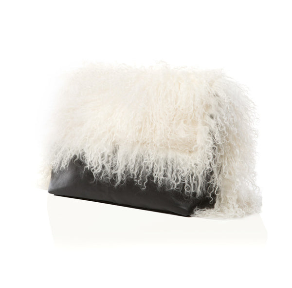 The Big Fur Clutch - Black & White