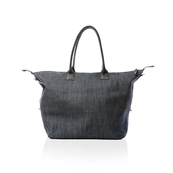 The Bravo Satchel — Japanese Denim