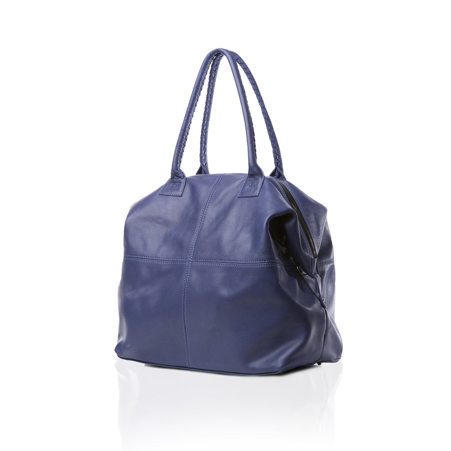 Marie Turnor Accessories Bravo Large Overnight Satchel Royal