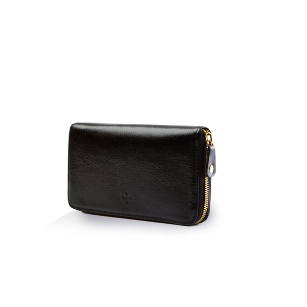 The Zip Wallet - Black