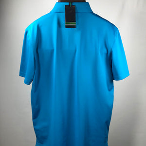 Blue Tommy Hilfiger TH Tec Golf Shirt