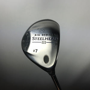Callaway Big Bertha Steelhead III 7 Wood