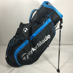 TaylorMade Black/Blue Lightweight Stand Bag