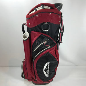 Sun Mountain Red/Black S-1 Cart Bag