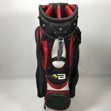 TaylorMade Burner Black-White-Red Cart Bag