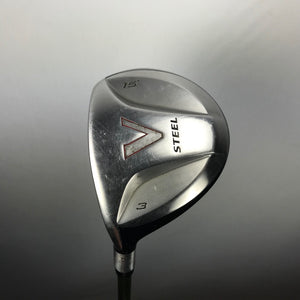 LH TaylorMade V Steel 3 Wood