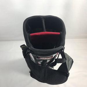 Titleist Grey Black-Red-White Lightweight Stand Bag