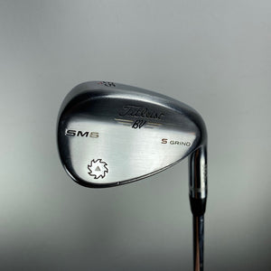 Titleist Vokey SM6 Tour Chrome S Grind 56* Wedge