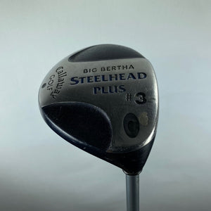 Callaway Big Bertha Steelhead Plus 3 Wood