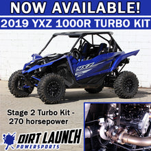 Load image into Gallery viewer, DLP 2019+ Stage 2 Turbo kit - Yamaha YXZ1000R & YXZ1000rSS