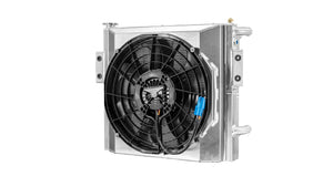 "Polaris Pro XP Race Radiator 16"" Spal Fan"
