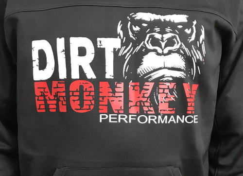 Dirt Monkey Performance - Fleece Hoodie