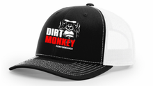 Load image into Gallery viewer, Dirt Monkey Performance - Richardson 112 Black/White