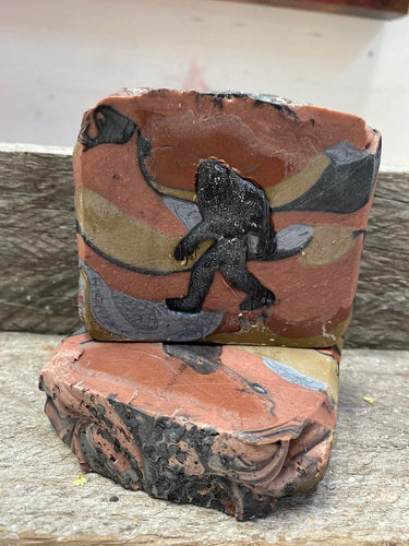 Bigfoot Camoflauge Artisan Soap