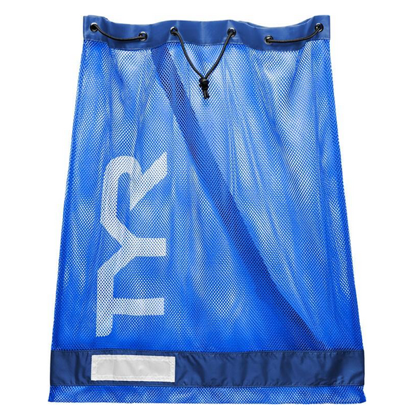 Blue Mesh Equipment Bag