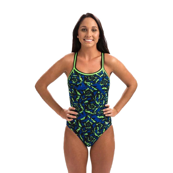 Ion DBX Back Suit - Blue/Green
