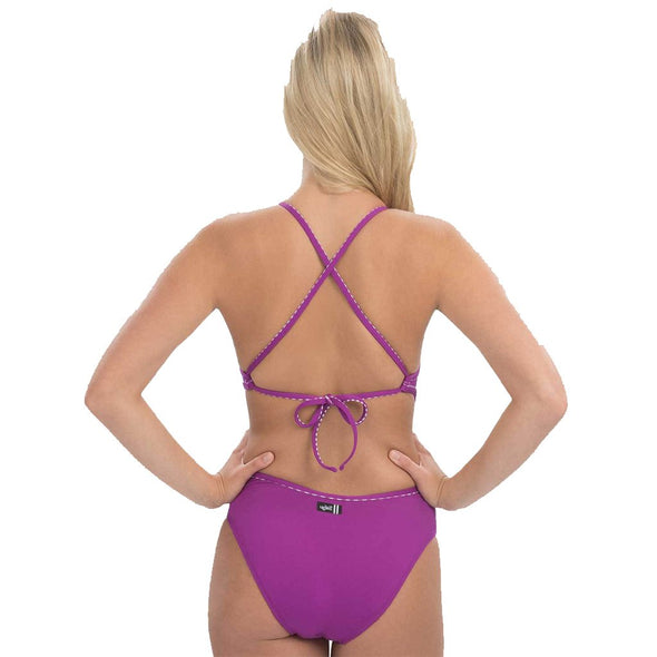Adjustable Tie Back Competitive Swimwear