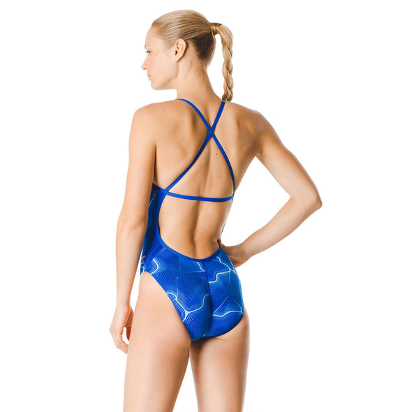 Competition Swimsuit for Ladies in Blue