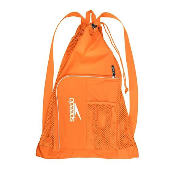 Orange Speedo Mesh Bag