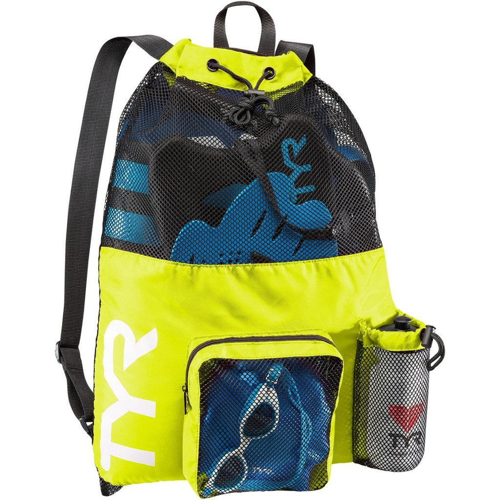 Large Neon TYR Mesh Backpack