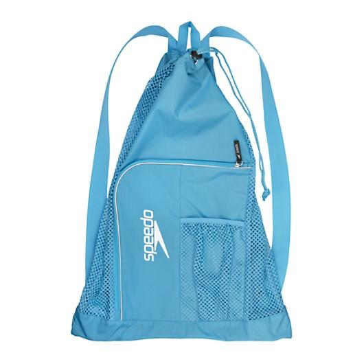 Blue Swim Mesh Bag