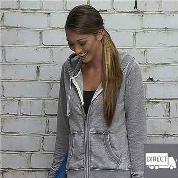 Hoodie Sweatshirt with Full Zip Up