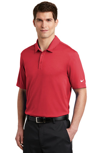 Nike DriFit Polo Shirt Red, Black and White