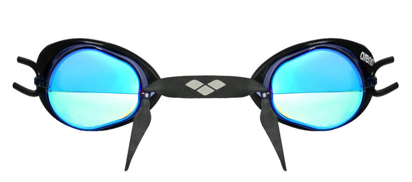 Blue Mirror Goggles for Swim