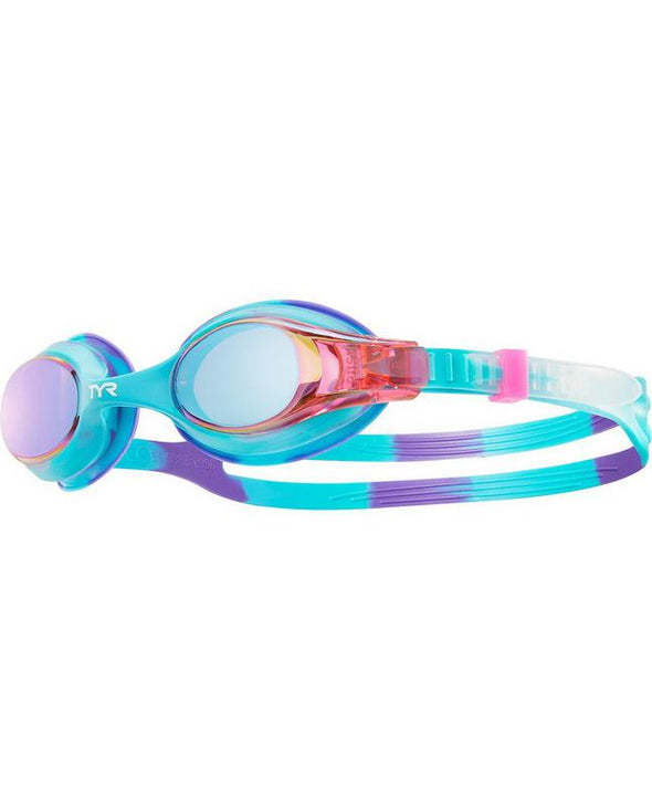 Tie Dye Goggles for Competitive Swim Team