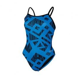 Trax Print Competitive Swimwear for Women