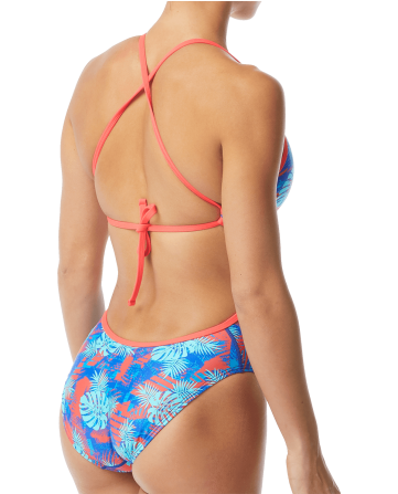Bright Colored Swimwear for Women with Adjustable Tie